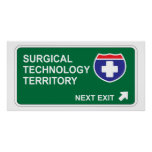 Surgical Technology Next Exit Posters
