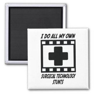 Surgical Technology Stunts 2 Inch Square Magnet
