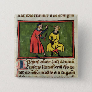 Surgical treatment, from an edition pinback button