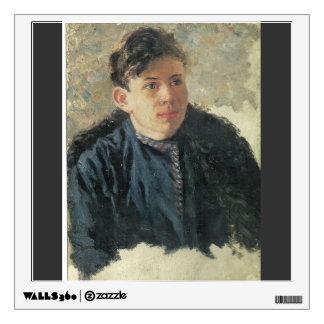 Surikov-Retrato de Vasily de Leonid joven Chernysh
