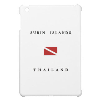 Surin Islands Thailand Scuba Dive Flag iPad Mini Case