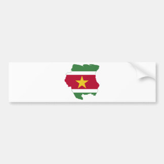 Suriname Bumper Sticker