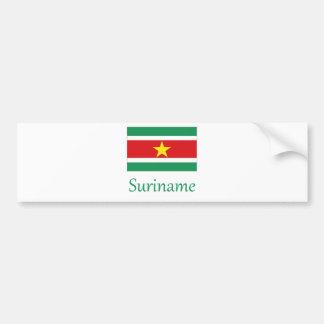 Suriname Bumper Sticker