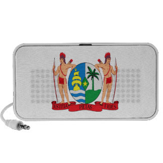 Suriname Coat of Arms Laptop Speakers