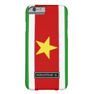 Suriname Flag Barely There iPhone 6 Case