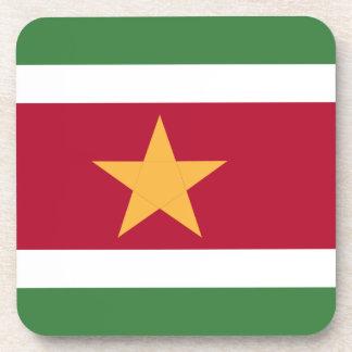 Suriname flag coaster