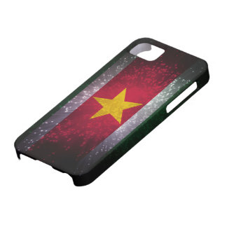 Suriname Flag Firework iPhone SE/5/5s Case