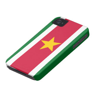 Suriname Flag iPhone 4 Case-Mate Case