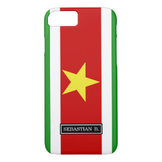 Suriname Flag iPhone 8/7 Case