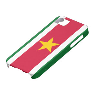 Suriname Flag iPhone SE/5/5s Case