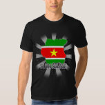 Suriname Flag Map 2.0 T-Shirt