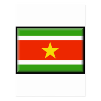 Suriname Flag Post Cards