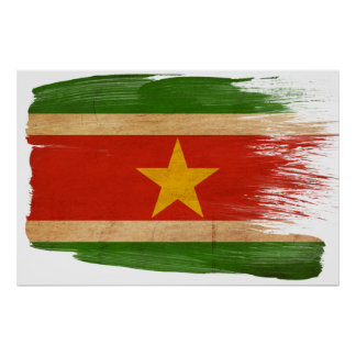 Suriname Flag Posters