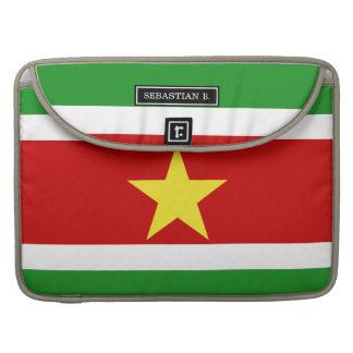 Suriname Flag Sleeve For MacBooks