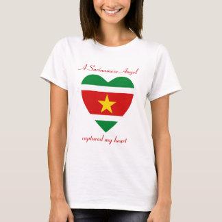 Suriname Flag Sweetheart T-Shirt