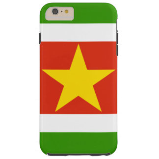 Suriname flag tough iPhone 6 plus case