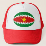 Suriname Gnarly Flag Hat