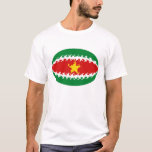 Suriname Gnarly Flag T-Shirt