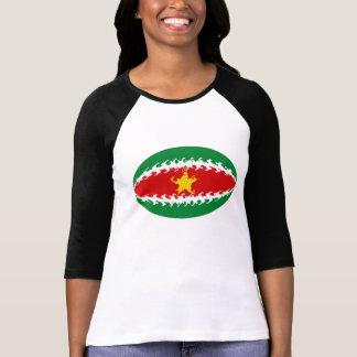 Suriname Gnarly Flag T-Shirt