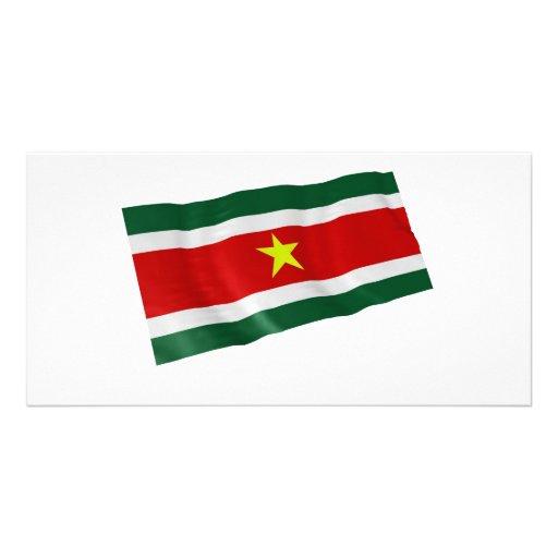 Suriname Tarjetas Personales