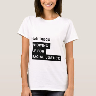 SURJ San Diego White Women's Tee