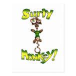 Surly Monkey! Postcard