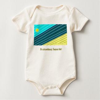 surpass fate! baby bodysuit