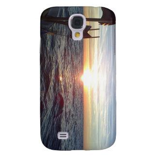 Surpass Photos Sun and Sea,Boat Galaxy S4 Cover
