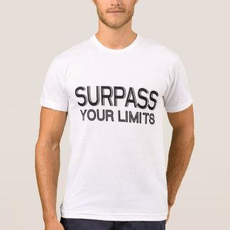 Surpass Your Limits Workout Inspiration T-Shirt
