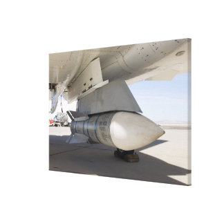 Surplus Navy Phoenix missiles Stretched Canvas Print