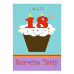 Surprise 18th Birthday Party Invitation Personalized Announcements