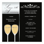 Surprise 25th Wedding Anniversary Party Invitation