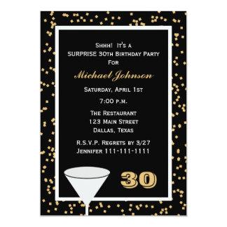 Surprise 30th Birthday Party Invitation Custom Announcements