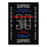 Surprise 30th Birthday Party Invitation - 30 Personalized Invite