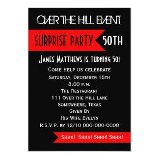 Surprise 50th Birthday Party Invitation
