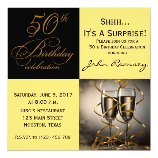 50Th Surprise Party Invitations is the best ideas you have to choose for invitation example