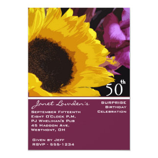 surprise 50th birthday party invitations - Surprise 50th Birthday Party Invitations
