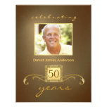Surprise 50th Birthday Party Invitations - Gold