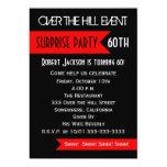 Surprise 60th Birthday Party Invitation Custom Announcements