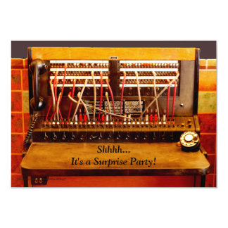 Surprise 75th Birthday Party Invite Switchboard