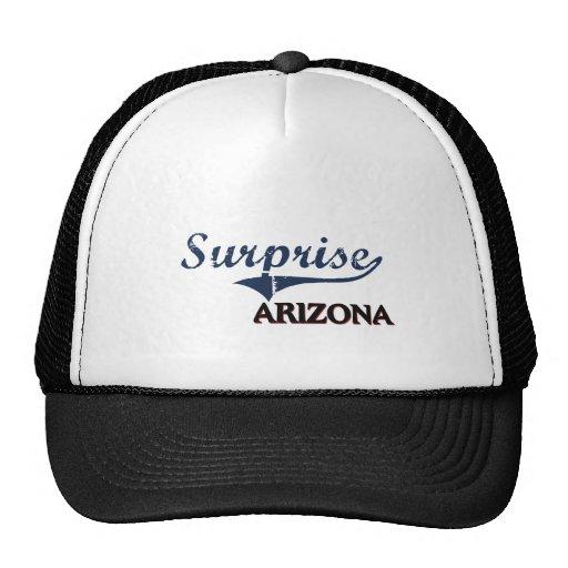 Surprise Arizona City Classic Hats