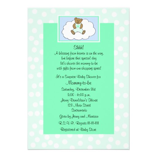 baby shower invitation a lovely surprise baby shower invitation for