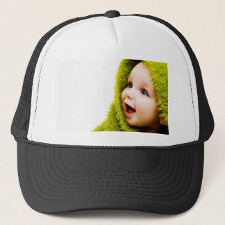 Surprise Baby Trucker Hat