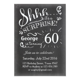 Th Birthday Invitations Announcements Zazzle - Birthday invitation fonts