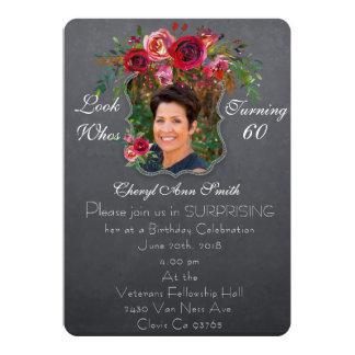 Surprise Birthday  Invitation - Womens #  Birthday