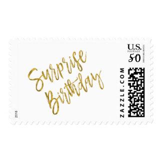 Surprise Birthday Party Birthday Postage Stamp