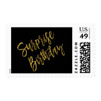 Surprise Birthday Party Birthday Postage Stamp