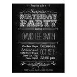 Surprise Birthday Party Postcard