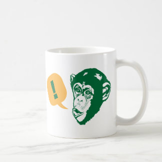 Surprise Chimp Coffee Mug