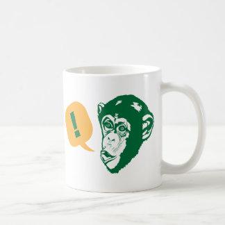 Surprise Chimp Coffee Mug
